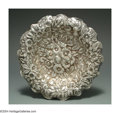Silver Holloware, American:Bowls, AN AMERICAN SILVER REPOUSSE BOWL