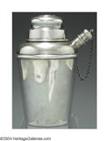 Silver Smalls:Other , AN AMERICAN SILVER MINIATURE COCKTAIL SHAKER