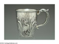 Silver Holloware, American:Cups, AN AMERICAN SILVER AESTHETIC MOVEMENT CUP