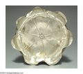 Silver & Vertu:Hollowware, AN AMERICAN SILVER AESTHETIC MOVEMENT BOWL. Mark of Shiebler, New York, c.1880. Of organic lily pad form, lightly hand ham...