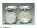 Silver Holloware, American:Plates, A GROUP OF ELEVEN AMERICAN SILVER STRAWBERRY MOTIF DISHES