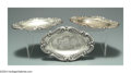 Silver Smalls:Other , THREE BLACK AMERICANA SILVER TRAYS