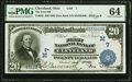 Cleveland, OH - $20 1902 Date Back Fr. 642 The First National Bank Ch. # (M)7 PMG Choice Uncirculated 64