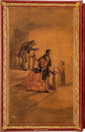 Books:Fore-edge Paintings, [Miss Haywood]. Charles Dickens. Little Dorrit. London: Bradbury & Evans, 1857. First edition in book form. Watercol...
