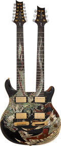 Musical Instruments:Electric Guitars, 2005 Paul Reed Smith (PRS) Dragon Double-Neck Gray Solid B...