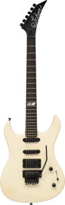 Musical Instruments:Electric Guitars, 1987 Schon Prototype Pearl White Solid Body Electric Guita...