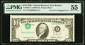 Error Notes:Inverted Third Printings, Inverted Third Printing Error Fr. 2027-A $10 1985 Federal Reserve Note. PMG About Uncirculated 55.. ...