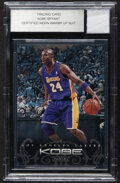 Basketball Cards:Singles (1980-Now), 2012 Panini Anthology Kobe Bryant Certified Worn Warm Up Suit BGS....