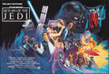 """Movie Posters:Science Fiction, Return of the Jedi (20th Century Fox, 1983). Rolled, Very Fine. First Printing British Quad (27.25"""" X 40"""") London Undergroun..."""