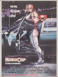 """Movie Posters:Action, RoboCop (Orion, 1987). Rolled, Very Fine. Bus Shelter (45"""" X 60"""") Advance, Mike Bryan Artwork. Action.. ..."""