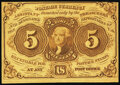 Fractional Currency:First Issue, Fr. 1230 5¢ First Issue New.. ...