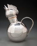 Decorative Accessories, Napier Company (American, est. 1922). Rooster Cocktail Shaker, circa 1945. Silver-plated brass. 9-1/2 x 5-1/4 x 7 inches...