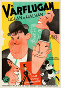"""Movie Posters:Comedy, Hollywood Party (MGM, 1935). Folded, Very Fine+. Swedish One Sheet (27.5"""" X 39.5"""").. ..."""