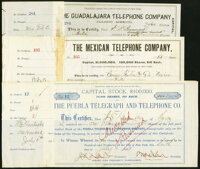 Miscellaneous - Stock and Bond Certificates – Telephone and Communications Collection Eight
