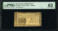 Colonial Notes:New Jersey, New Jersey June 22, 1756 1s PMG Choice Uncirculated 63.. ...