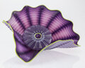 Sculpture, Dale Chihuly (American, b. 1941). Imperial Iris Persian Seaform Set, 1999, Portland Press. Blown glass. Incised Ch...