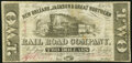 Obsoletes By State:Louisiana, New Orleans, LA- New Orleans, Jackson & Great Northern Rail Road Company $2 Nov. 16, 1861 Fine.. ...