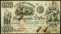 New Orleans, LA- City of New Orleans Municipality No. One. $100 May 26, 1843 About Uncirculated