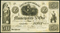 New Orleans, LA- Municipality No. One $50 184_ Remainder About Uncirculated