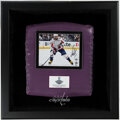 Hockey Collectibles:Others, 2018 Alexander Ovechkin Signed Shadow Box Display With Arena Seat Cushion....