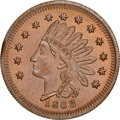 1863 A.C. Connely's, Dry Goods, Civil War Store Card, Paris, Illinois, Fuld-690B-2a, R.7, MS66 Red and Brown NGC. Ex: Do...