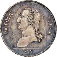 1860-Dated TOKEN Woodgate & Co., GW-234, MS65 NGC. Silver. Ex: Donald G. Partrick Collection. From The Donald G. Par...
