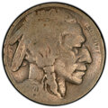 1920 5C Buffalo Nickel -- Cud Die Break -- Good 4 PCGS. From The Don Bonser Error Coin Collection Part III