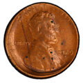 Errors, 1929-S 1C Lincoln Cent -- Uncentered Broadstrike, Cleaned -- PCGS Genuine. AU Details....