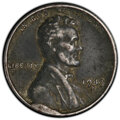 Errors, 1943-S 1C Lincoln Cent -- Cud Die Break -- XF40 PCGS.. From The Don Bonser Error Coin Collection Part III....