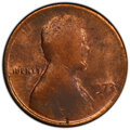 Errors, 1973-D 1C Lincoln Cent -- Struck on Split Planchet -- MS61 Red PCGS. . From The Don Bonser Error Coin Collection Part I...