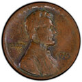 Errors, 1965 1C Lincoln Cent -- Struck on Thin Planchet -- MS62 Brown PCGS. . From The Don Bonser Error Coin Collection Part II...