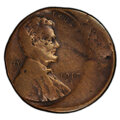 Errors, 1917-S 1C Lincoln Cent -- Struck 30% Off Center -- Fine 12 PCGS. . From The Don Bonser Error Coin Collection Part I...