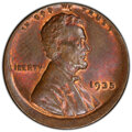 Errors, 1935 1C Lincoln Cent -- Struck 5% Off Center -- MS64 Brown PCGS. . From The Don Bonser Error Coin Collection Part III....