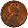 Errors, 1962 1C Lincoln Cent -- Struck on Split Planchet -- MS62 Red and Brown PCGS. . From The Don Bonser Error Coin Collectio...