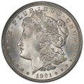 1921 $1 MS66+ PCGS. CAC. PCGS Population: (740/21 and 158/0+). NGC Census: (679/12 and 25/1+). CDN: $475 Whsle. Bid for...