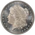 1880-O $1 MS63 Deep Mirror Prooflike PCGS. PCGS Population: (74/49 and 3/2+). NGC Census: (47/30 and 0/0+). CDN: $2,200...