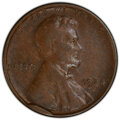 Errors, 1924-D 1C Lincoln Cent -- Cud Die Break -- VF20 PCGS.. From The Don Bonser Error Coin Collection Part III....