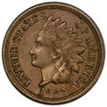 Errors, 1862 1C Indian Cent -- Cud Die Break -- XF45 PCGS.. From The Don Bonser Error Coin Collection Part III....