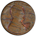 1960-D 1C Large Date, Lincoln Cent -- Struck on Split Planchet -- MS61 Brown PCGS. From The Don Bonser Error Coin Coll...