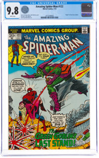 The Amazing Spider-Man #122 (Marvel, 1973) CGC NM/MT 9.8 White pages