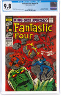 Silver Age (1956-1969):Superhero, Fantastic Four Annual #6 (Marvel, 1968) CGC NM/MT 9.8 White pages....