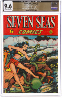 Seven Seas Comics #3 The Promise Collection Pedigree (Universal Phoenix Feature, 1947) CGC NM+ 9.6 Off-white to white pa...