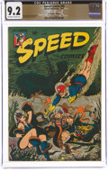 Golden Age (1938-1955):Superhero, Speed Comics #40 The Promise Collection Pedigree (Harvey, 1945) CGC NM- 9.2 Off-white to white pages....