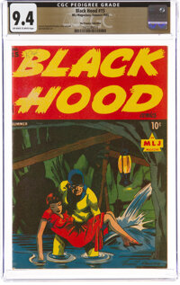 Black Hood #15 The Promise Collection Pedigree (MLJ, 1945) CGC NM 9.4 Off-white to white pages