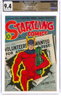 Golden Age (1938-1955):Superhero, Startling Comics #41 The Promise Collection Pedigree (Better Publications, 1946) CGC NM 9.4 Off-white to white pages....
