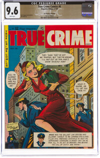True Crime Comics #6 The Promise Collection Pedigree (Magazine Village, 1949) CGC NM+ 9.6 White pages