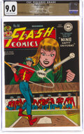 Golden Age (1938-1955):Superhero, Flash Comics #90 The Promise Collection Pedigree (DC, 1947) CGC VF/NM 9.0 Off-white to white pages....