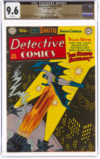 Detective Comics #153 The Promise Collection Pedigree (DC, 1949) CGC NM+ 9.6 White pages