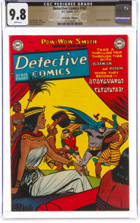 Detective Comics #167 The Promise Collection Pedigree (DC, 1951) CGC NM/MT 9.8 White pages