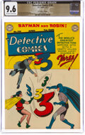 Golden Age (1938-1955):Superhero, Detective Comics #146 The Promise Collection Pedigree (DC, 1949) CGC NM+ 9.6 Off-white to white pages....
